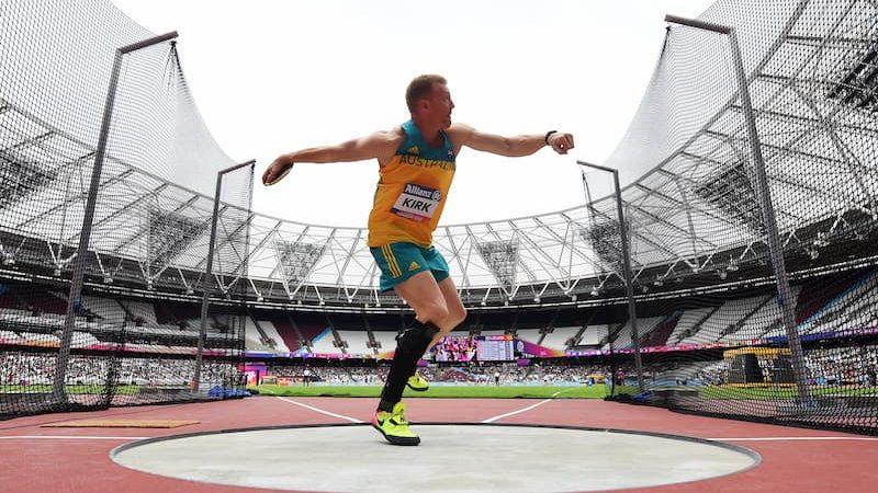 Daniel Kirk - London 2017 World Para-athletics Championships - Day 3 - Discus